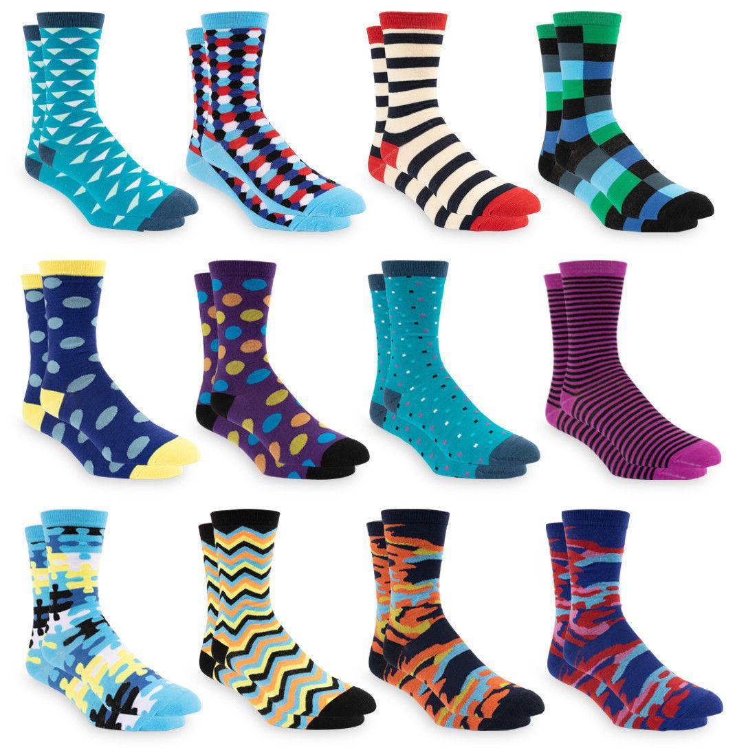 10-13 Colorful Crew Socks 12