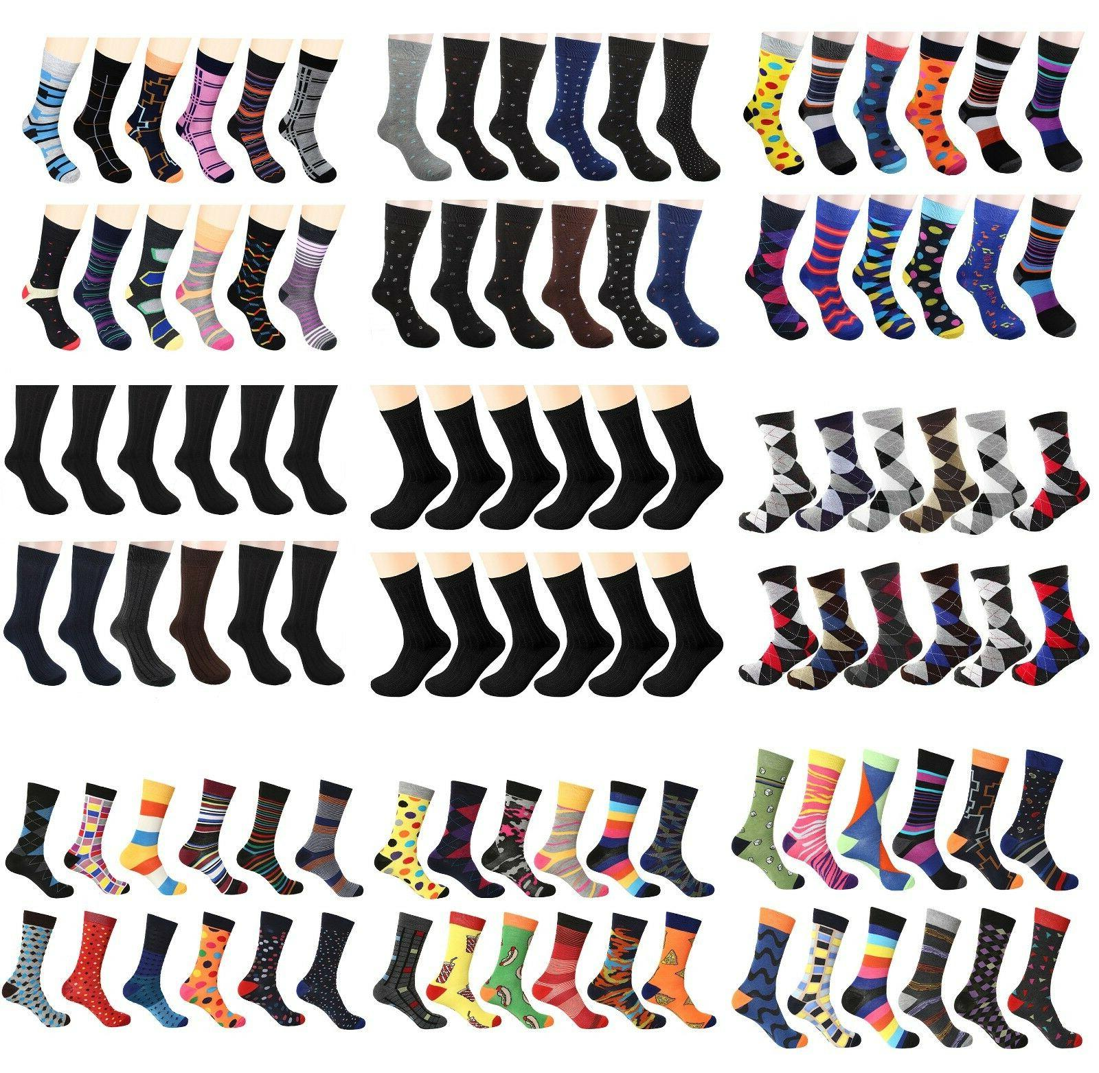 men s dress socks funky fashion casual