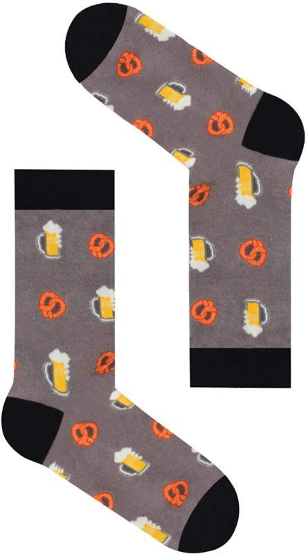 Zmart Men's Food Fruit Socks Crazy Pineapple Taco Pizza