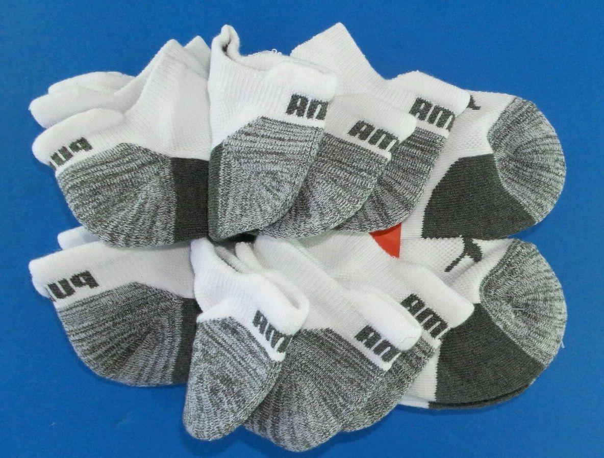 Puma Men's Tab Socks 10-13 6 Grey