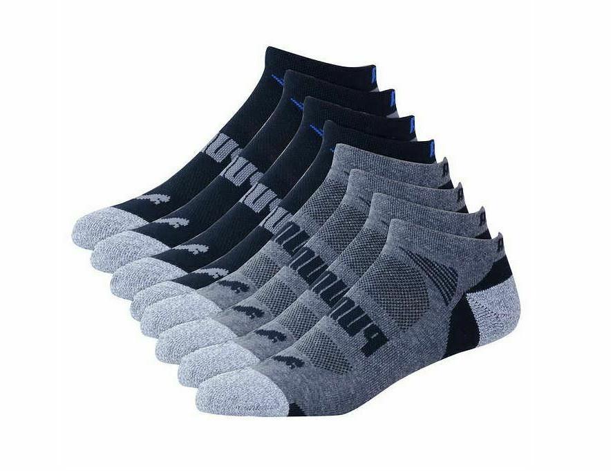 Puma Men's No Low Cut 8-pair Color and Size