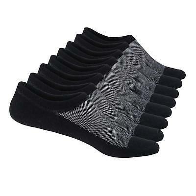 SIXDAYSOX Men's No Show Socks Men Cotton Loafer Non Slip Low