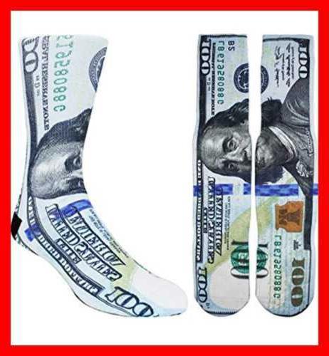 Zmart Novelty 3D Socks Dollar S