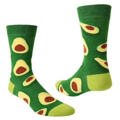 Zmart Novelty Cool Avocado Socks in