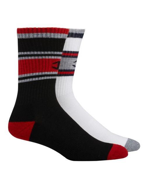 men s performance crew socks c logo