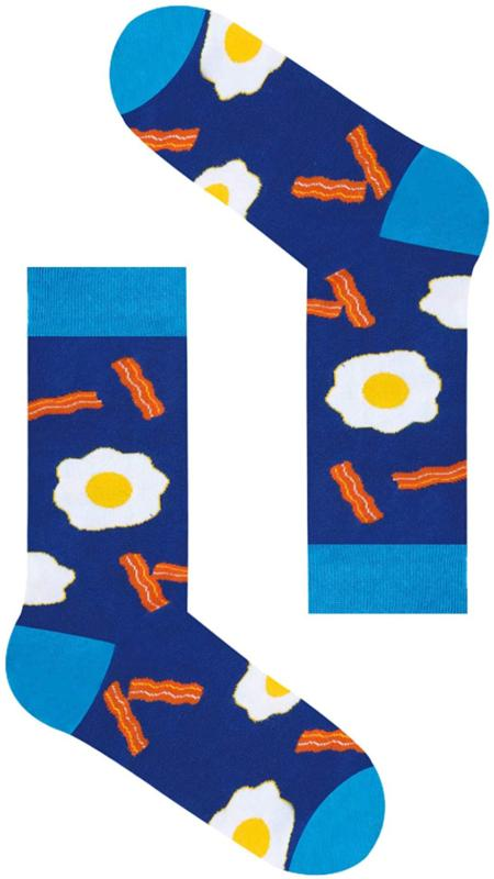 Zmart Taco Egg Crazy Fruit Crew Sock No