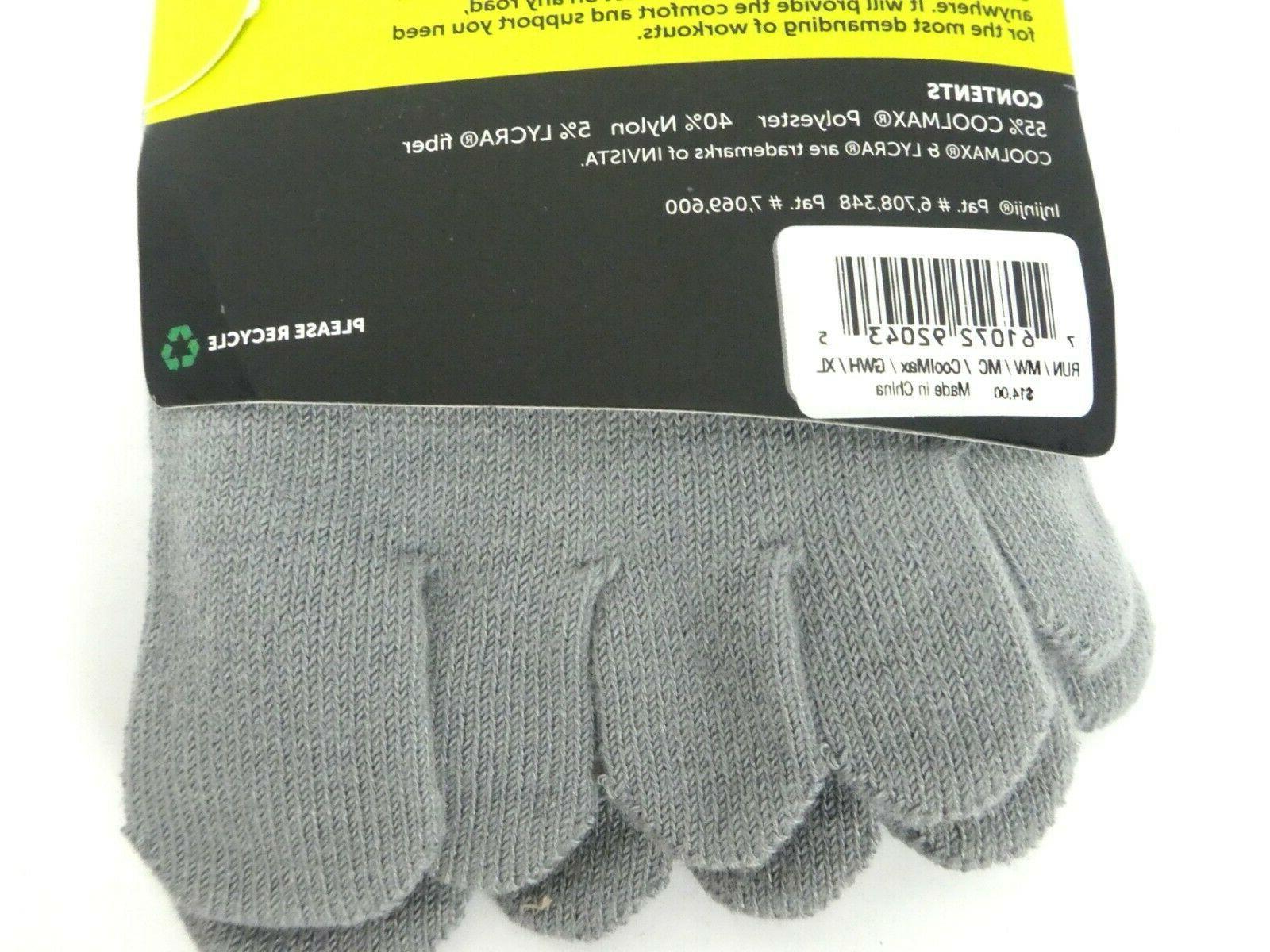 Injinji Men's Run Toe Socks CoolMax