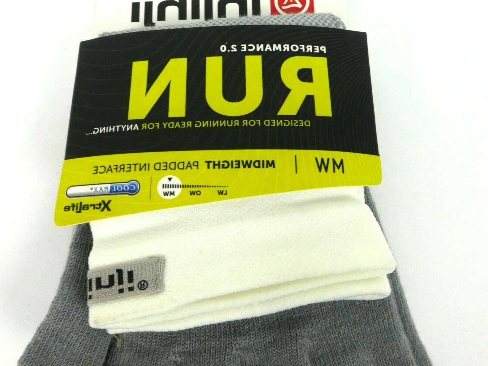 Injinji Men's Socks XL Crew CoolMax