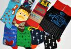 Men's Socks 1 Pair Novelty Crew Themed Patterned Fun Colorfu