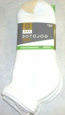 Gold Toe Men's Socks Cotton Quarter, 3 pair pack, Gold Toe 2