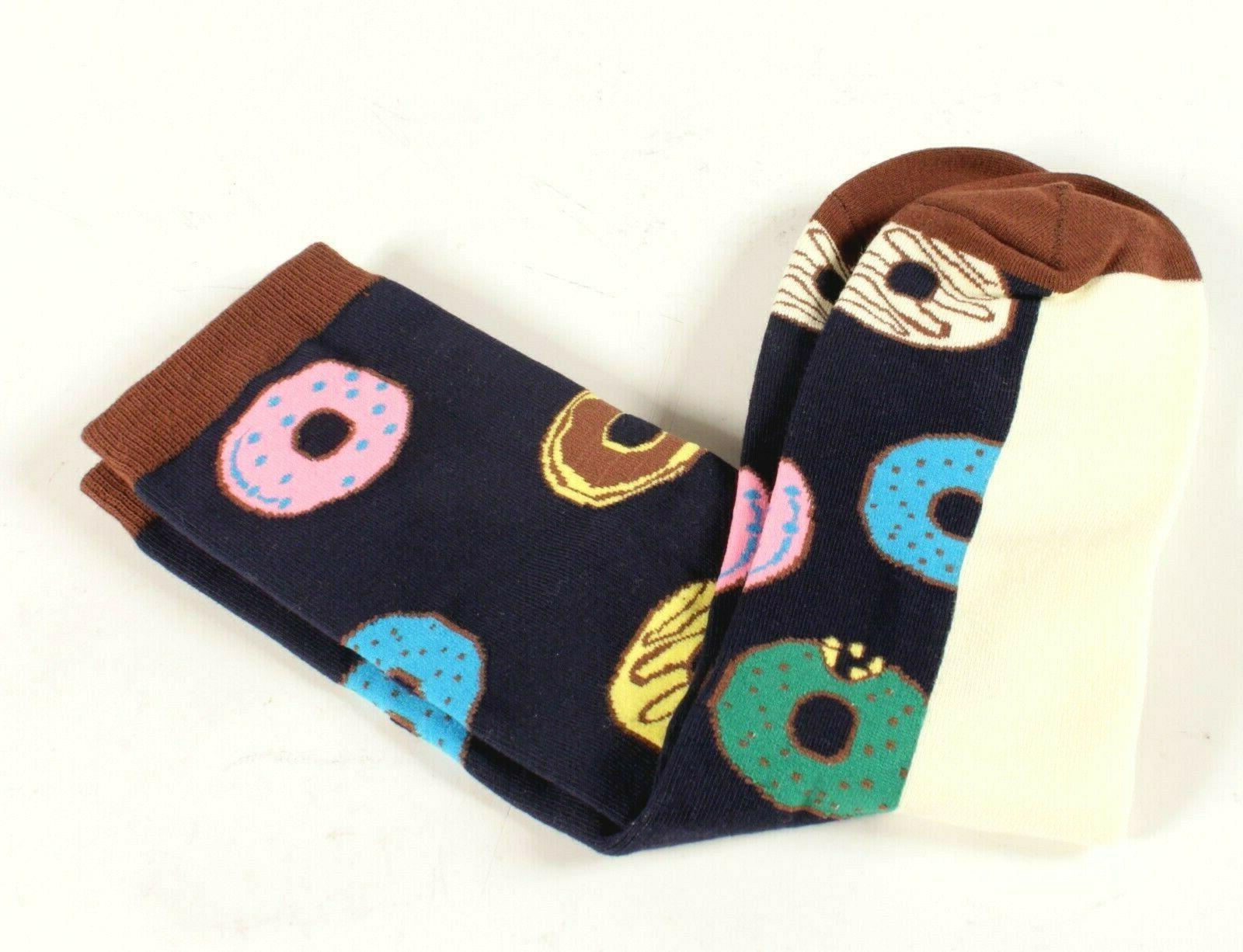 men s socks novelty donuts size 10