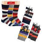 "Men's Socks trendmotiv "" Stripes "", Piqué Band Without Elas"