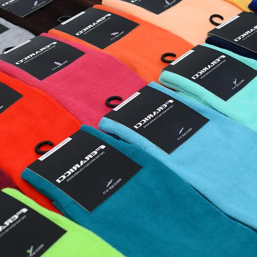 Men's Bold Colorful Solid Dress or Casual Socks 10 - 13 New