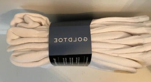Gold Toe® White Cushion 6 Pair, 10/13