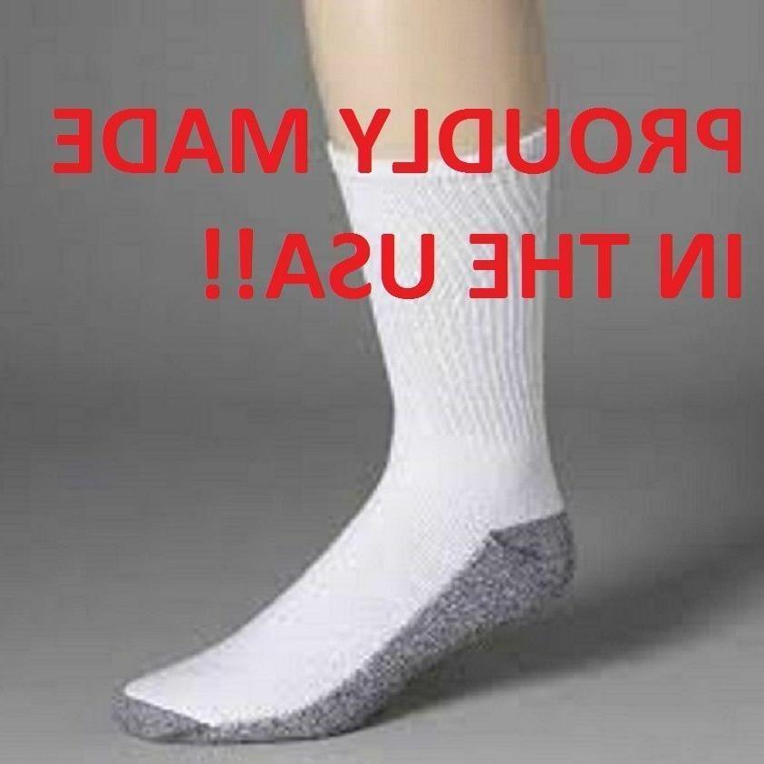 Dickies Men's Work Socks, Mens crew socks Made In The USA Fr