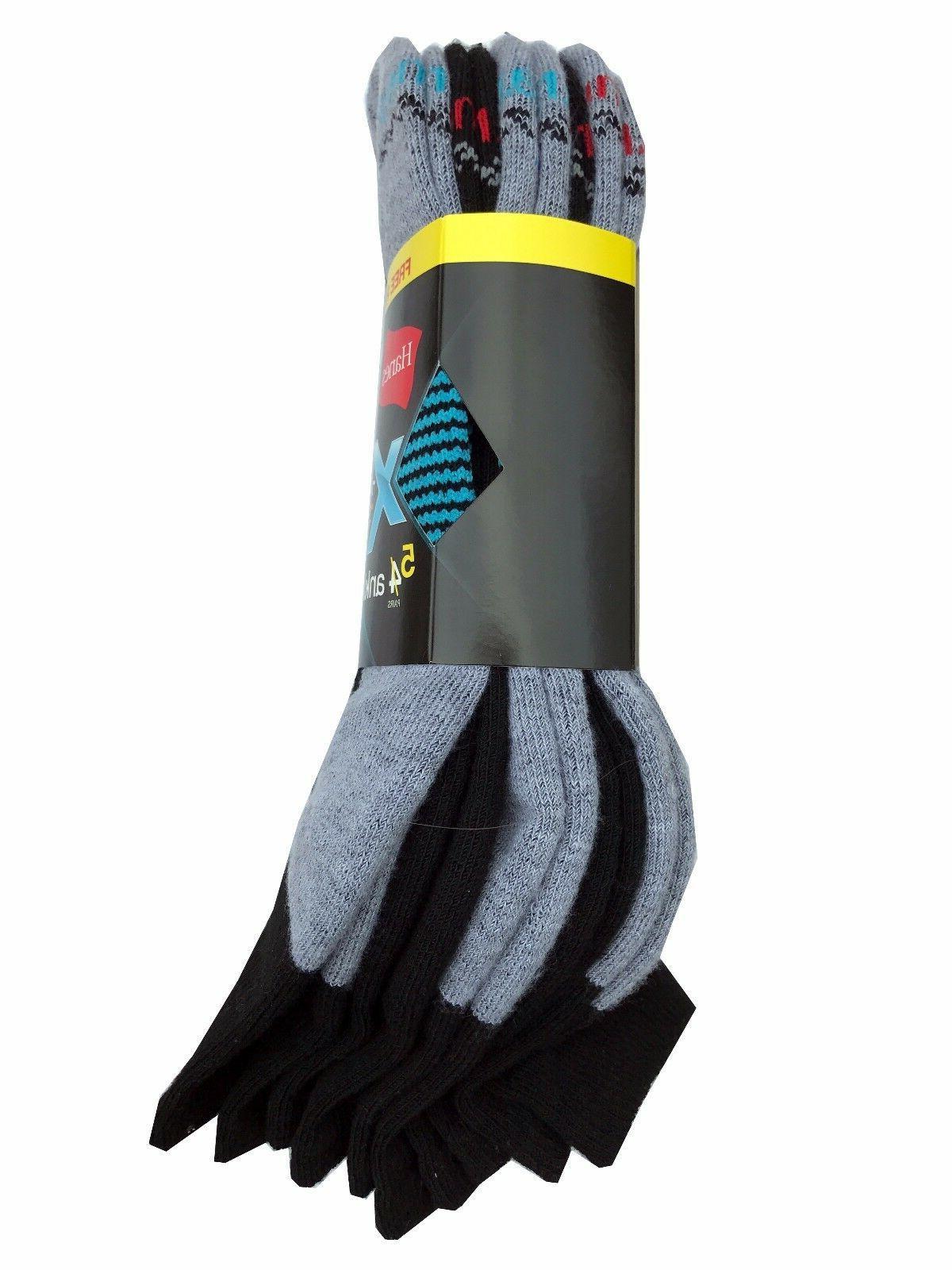 Hanes Men's X-TEMP Ankle Socks 5-Pack & NEW!!