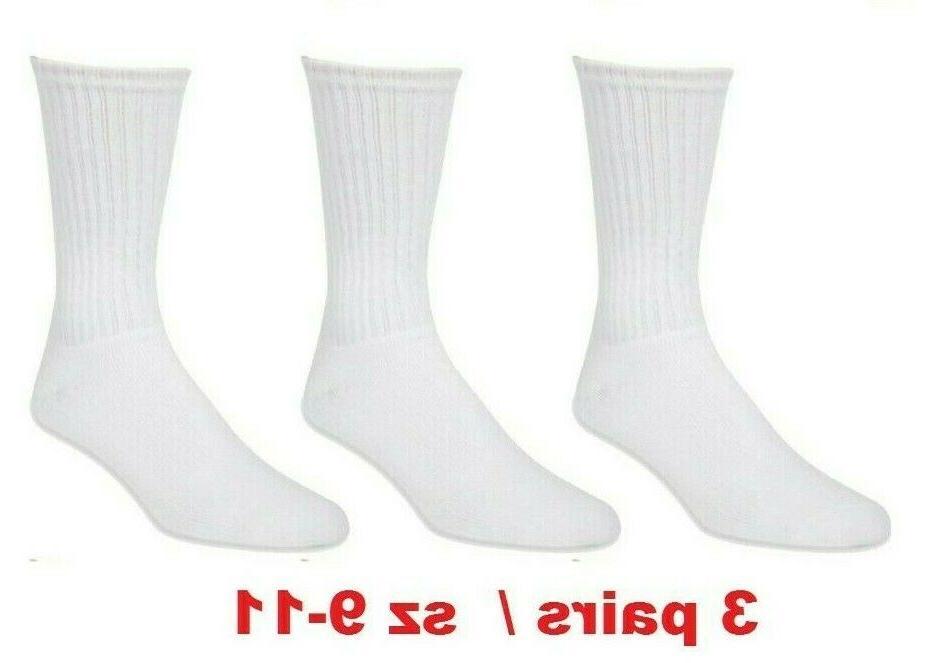 athletic cotton socks sz 9-11 10-13