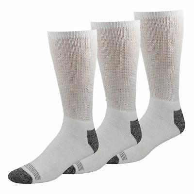 Dockers Mens 3-pk. Non-Binding Cushioned Crew Socks