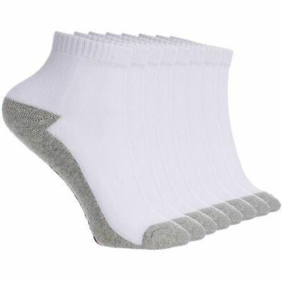mens 8 pack ankle socks low cut