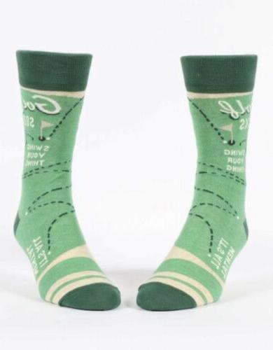 "Blue Funny Socks"""