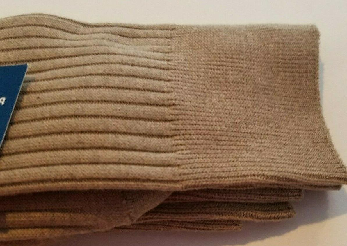 Mens Dress Khaki Performance pk Socks 8-12