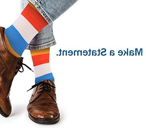 Gallery Seven Dress Socks - Funky Socks for Style 1 -