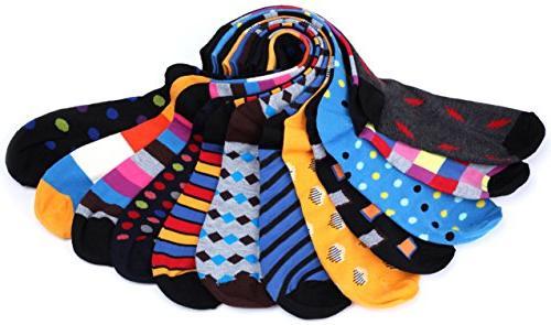Gallery Seven Socks - Funky Socks for Men Style 1 Pack -