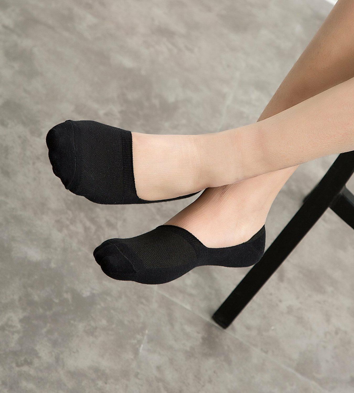 Mens Show Socks 6 Cut Thin Slip XL