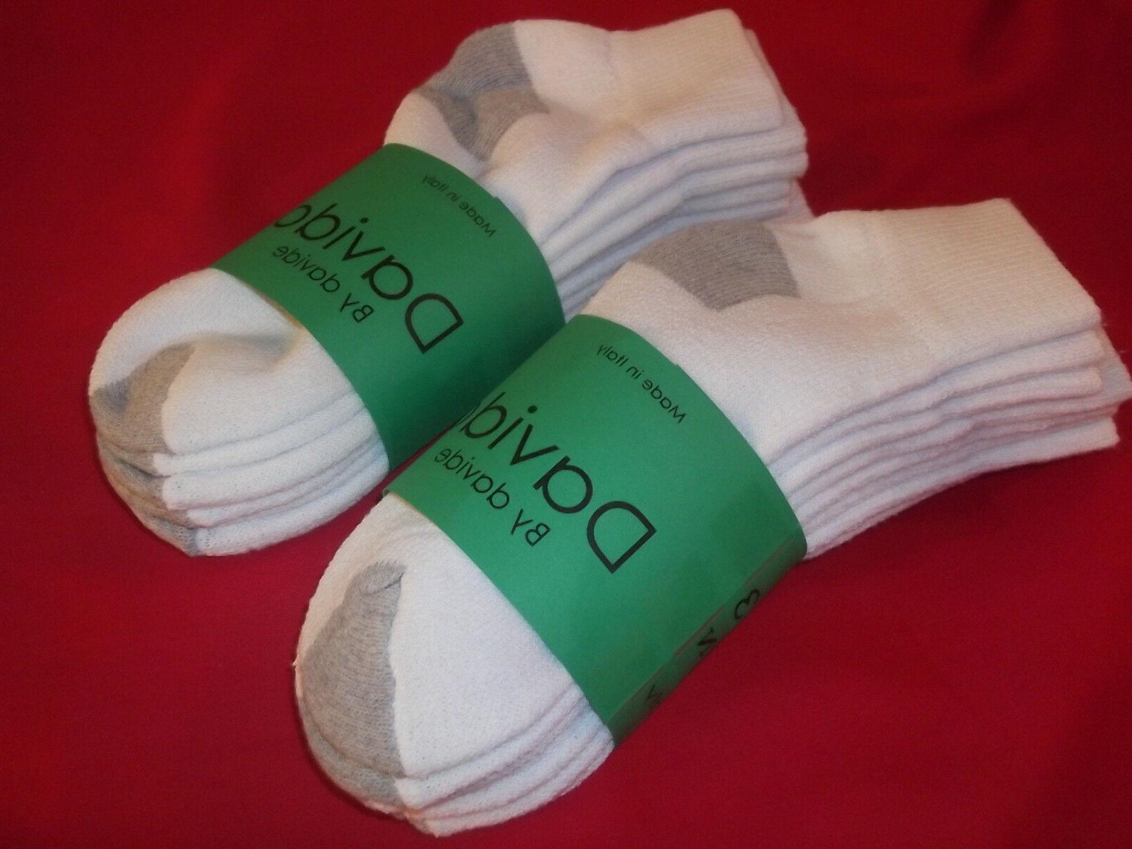 Davido socks ankle quarter in Italy white/gray