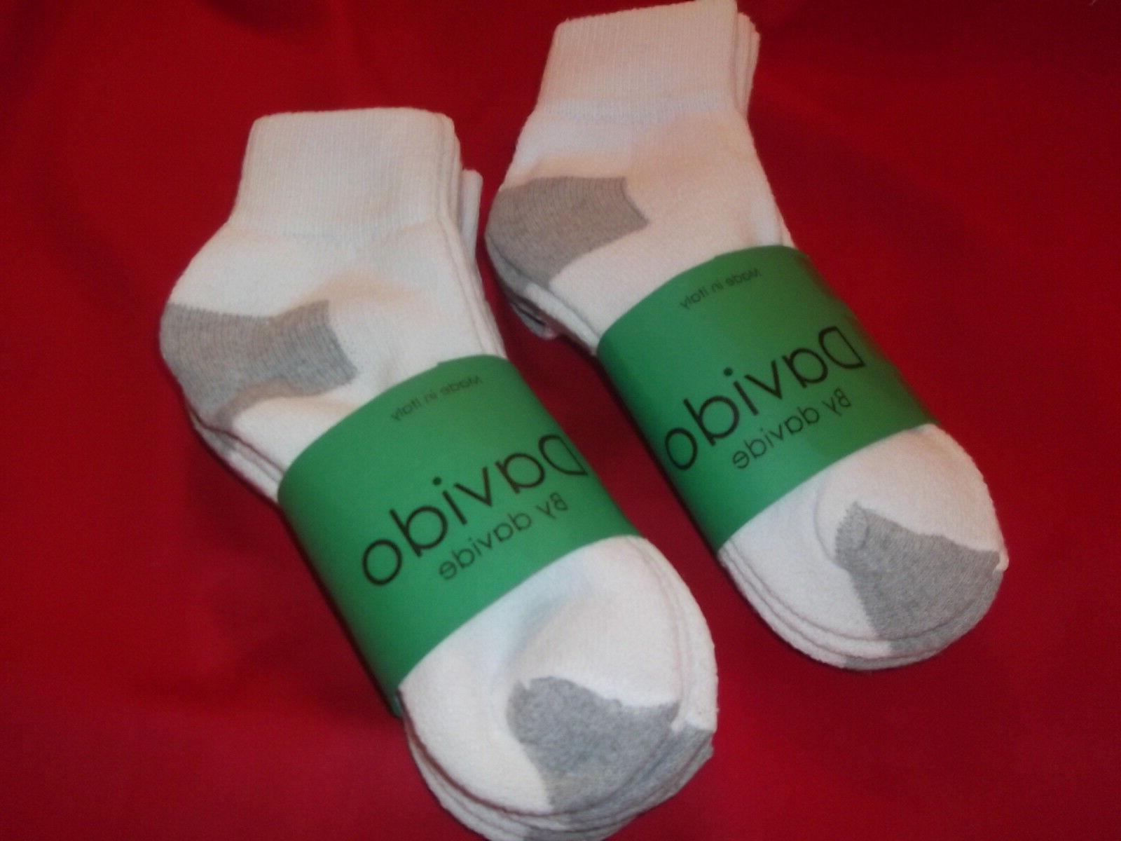 Davido ankle/quarter made in 100% cotton 8 10-13