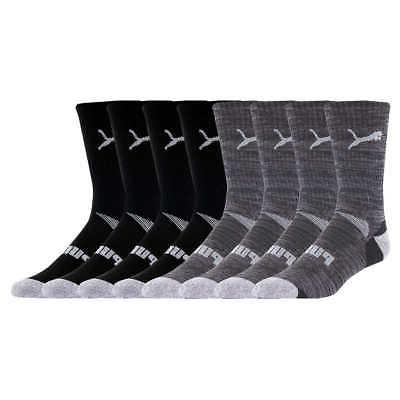 Puma Mid 8-pair Men's Sock Black