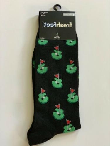 New Funky Socks Fresh Feet Men's Dress Casual Novelty Crew S