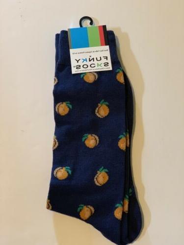 New Funky Socks Men's Dress Casual Novelty Crew Socks Georgi
