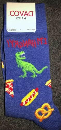 f8360868fb33f New Davco Mens Novelty Crew Socks DINOSAUR Says ' ...
