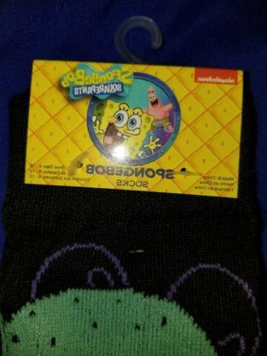 New Nickelodeon SpongeBob Men's Casual Novelty Socks SquidWard