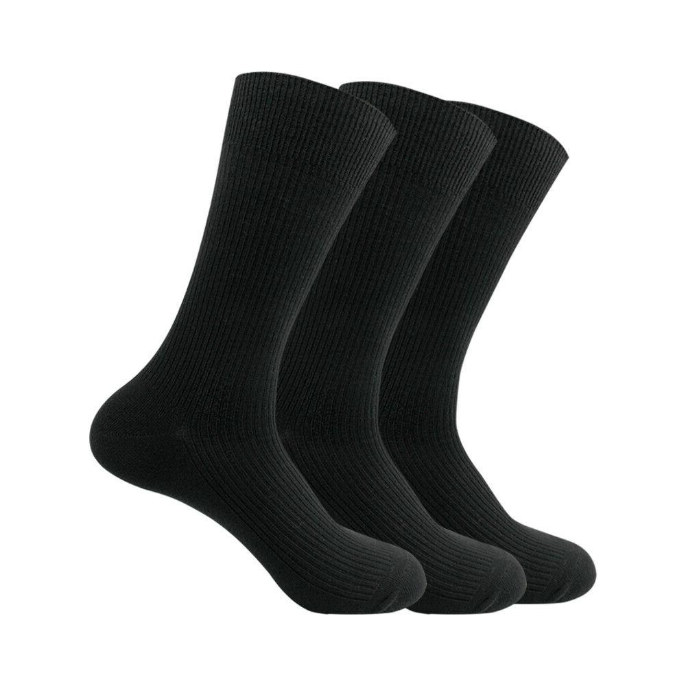 Mens No Show Socks Cotton Crew Socks Business Casual Ankle S
