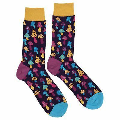 nwt light mushroom dress socks novelty men