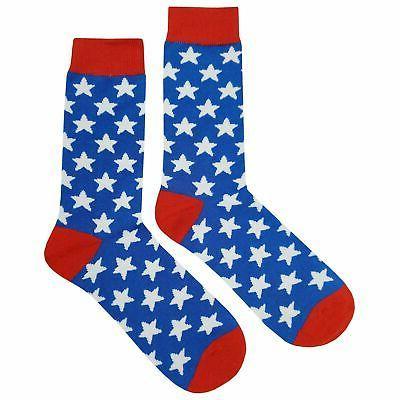nwt star dress socks novelty men 8