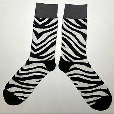 NWT Dress Socks Black White Sockfly