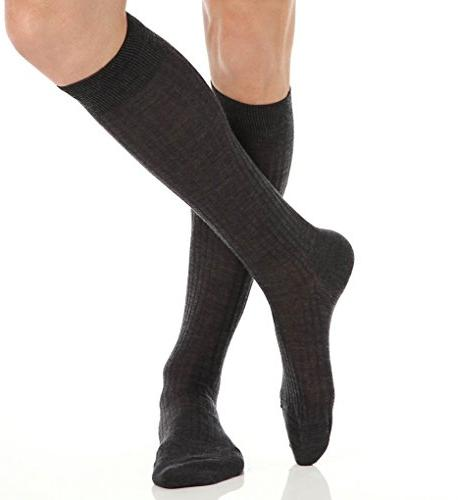 otc merino wool dress socks 5x3 rib