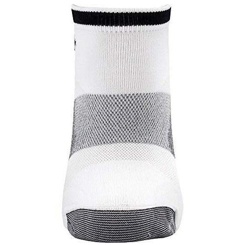 ASICS Cut Sock White, Large