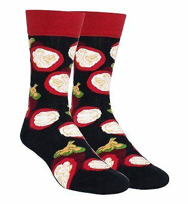 Zmart Red Pepper Crazy Socks for Men