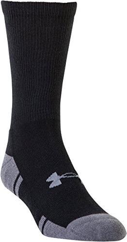 Under U292M 3.0 Athletic Socks , Black/Graphite, Large