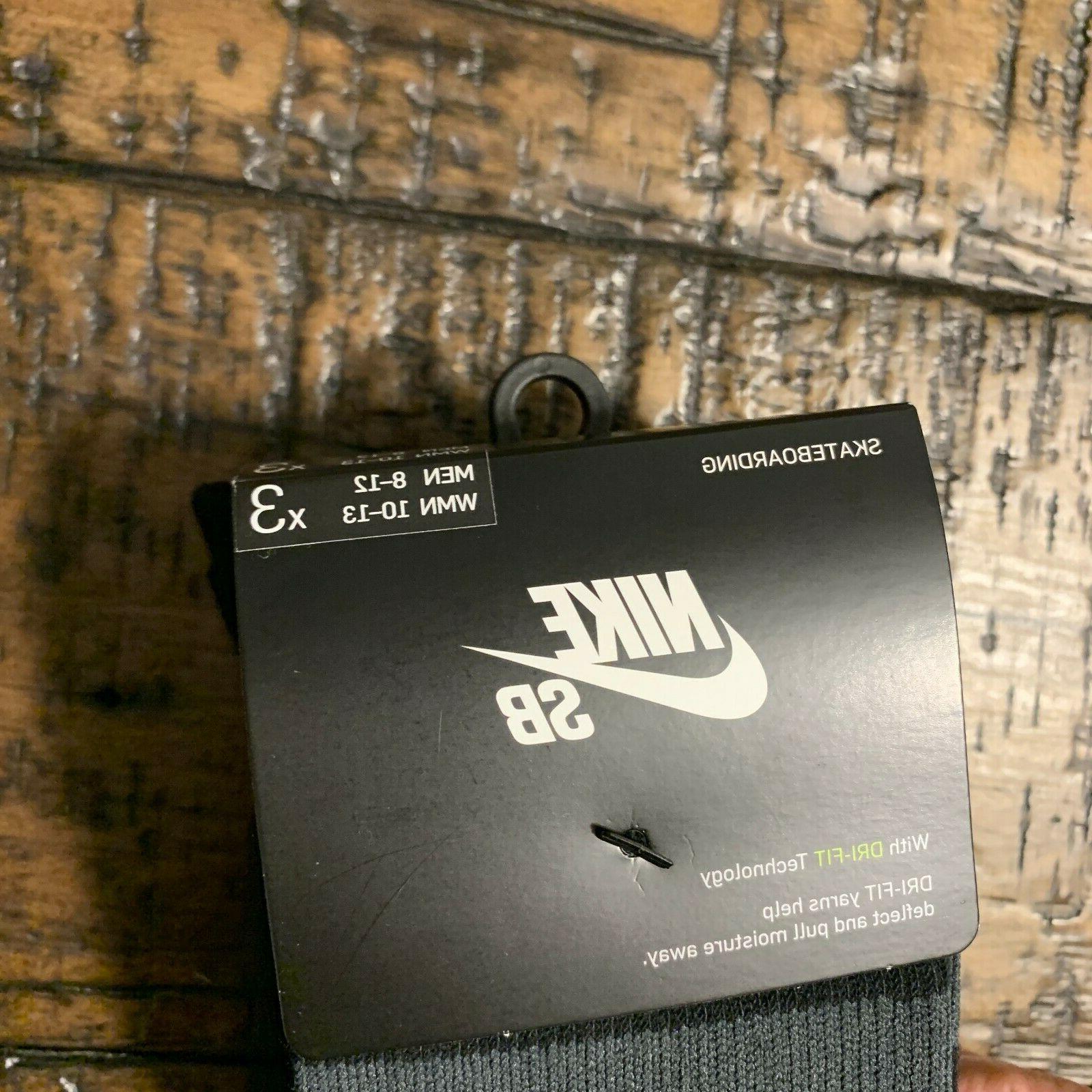 Nike SB Skateboarding Crew Pairs SX5760-010 Black L