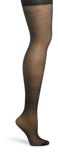Hanes Silk Reflections Women's Silky Sheer Hosiery, Jet, AB
