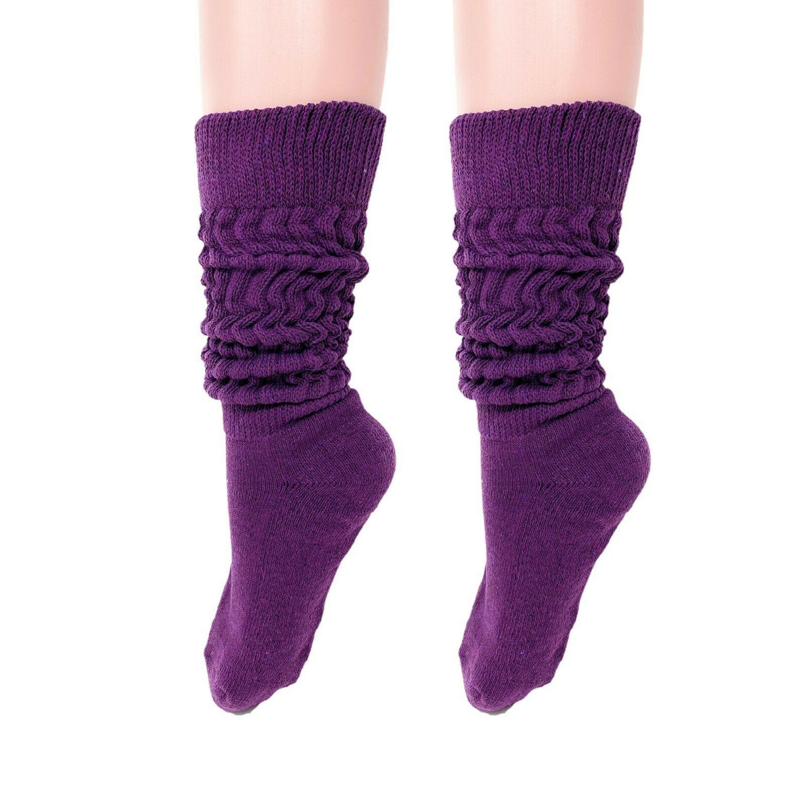 Slouch Women and Men Socks PAIRS 9-11