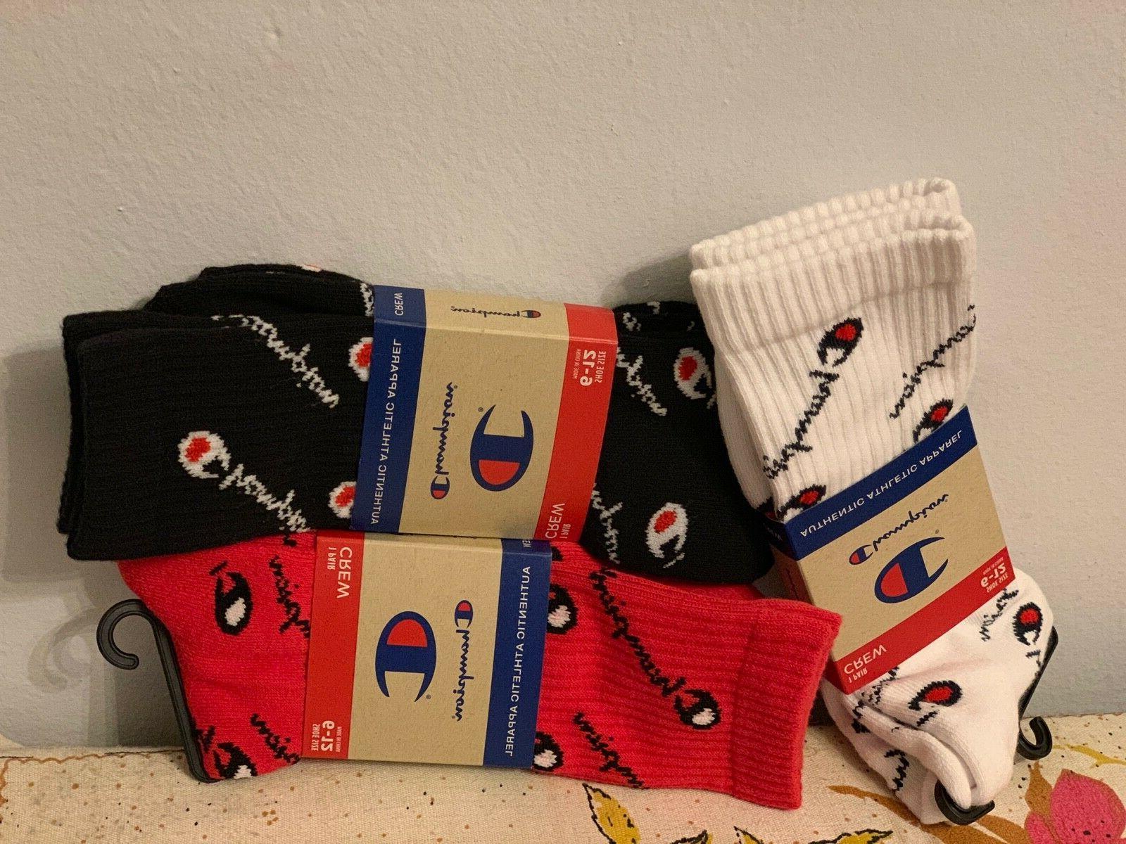 socks mens crew 3 pairs white