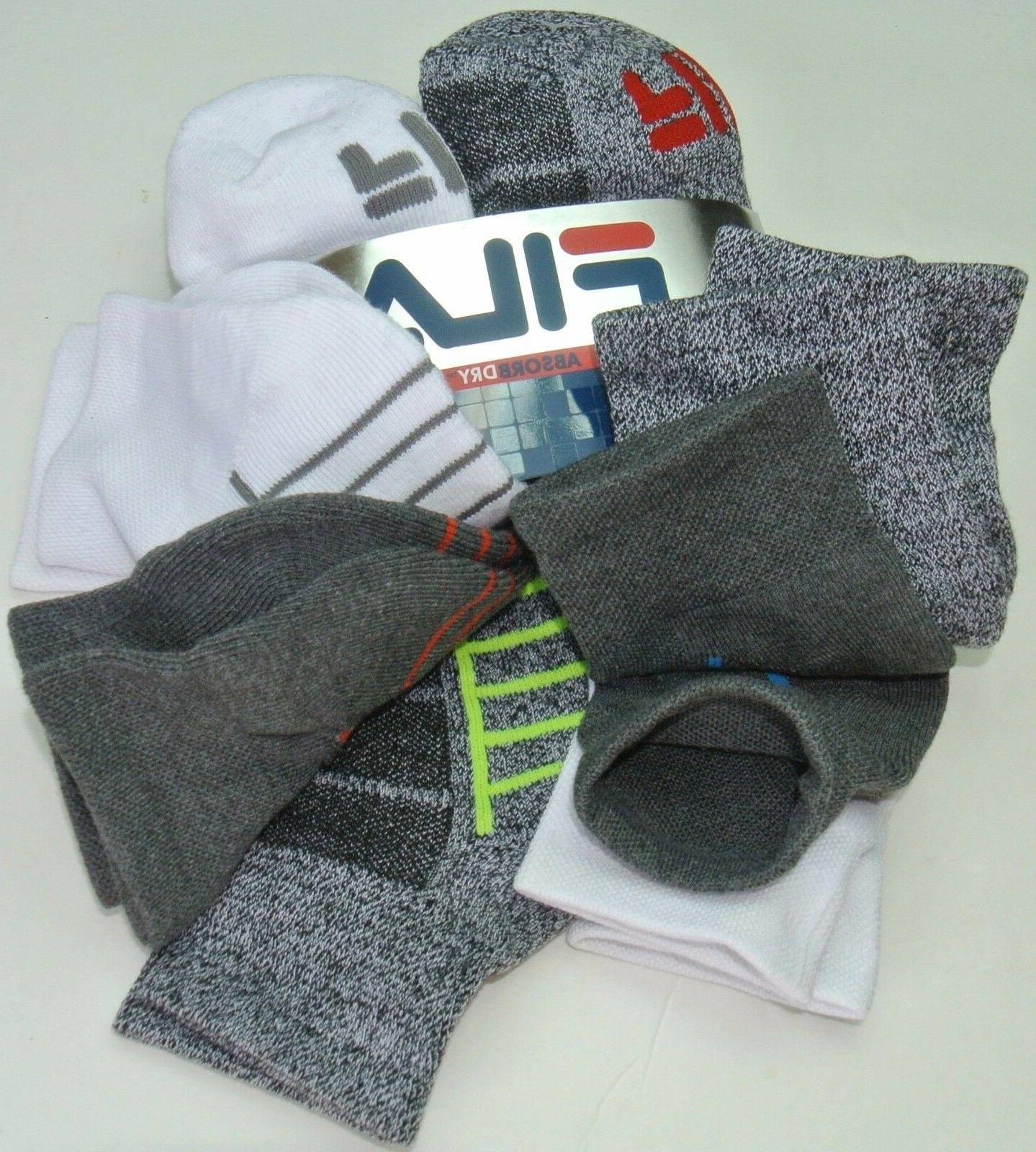 Pack Crew White Grey Cushioned Sport