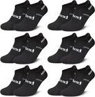 Sweat Wicking Socks All Black Ankle Tesla Compression High A