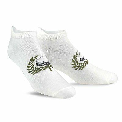TeeHee Men's No Show Socks 6-Pairs Assorted